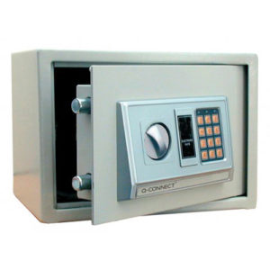 Q-Connect 10 Litre Electronic Safe