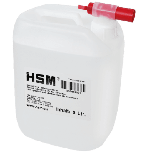 HSM Special Lubricating Oil (5L)