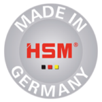 HSM made in Germany label